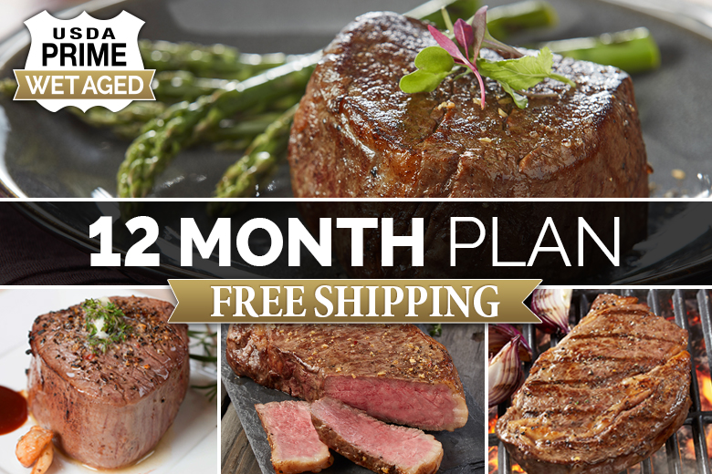"""Five Star Reserve Steaks 12 Month Plan 