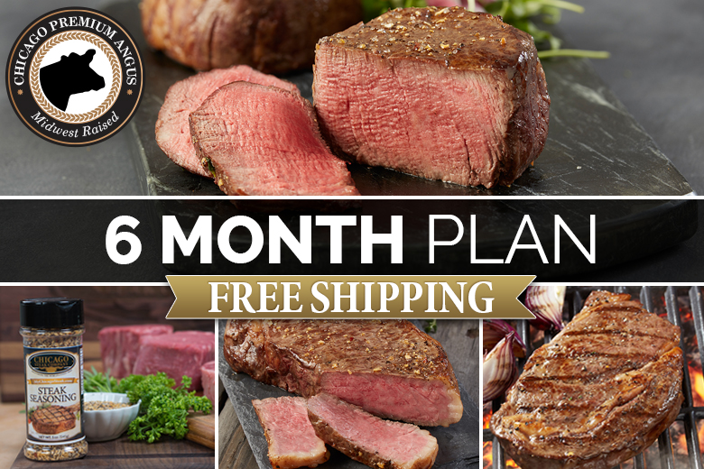 """Premium Angus Beef 6 Month Plan 