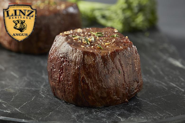 Premium Angus Beef – 4 (10oz) Filet Mignon Complete Trim
