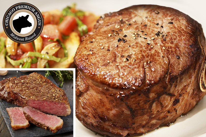 Grand Filet Mignon & Strip Combo | Reg $269.95 | Today