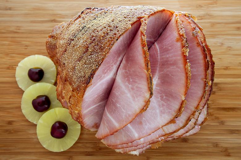 Torch Glazed Spiral Sliced Whole Ham (13-15 lbs)