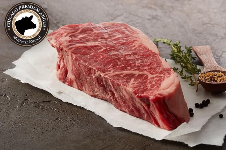 Premium Angus Beef Boneless Strips