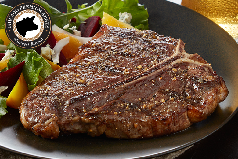 Premium Angus Beef 4 (18oz) Porterhouse | Reg $199.95 | Today
