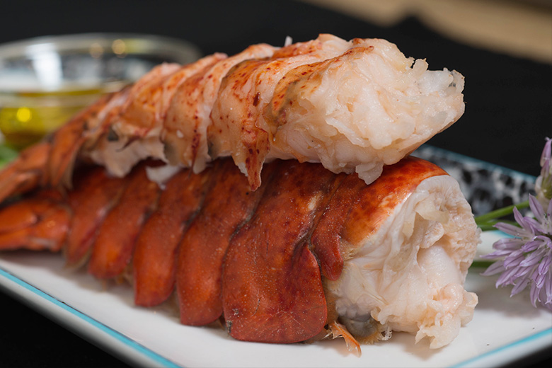 Image of 2 (6oz) Cold Water Lobster Tails & 8 (4oz) Burgers