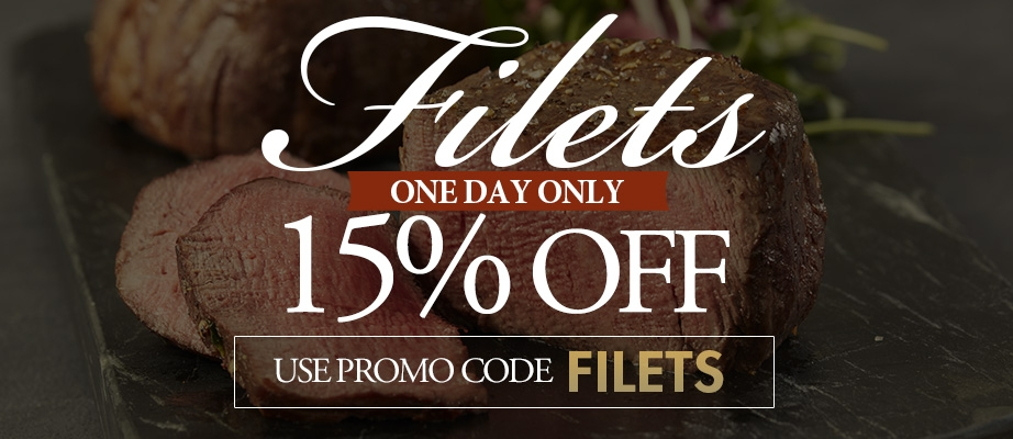 15% off Filets