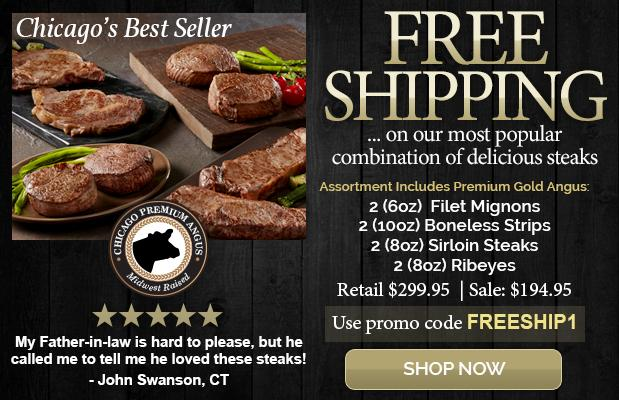 Free Shipping on the Chicago's Best Seller