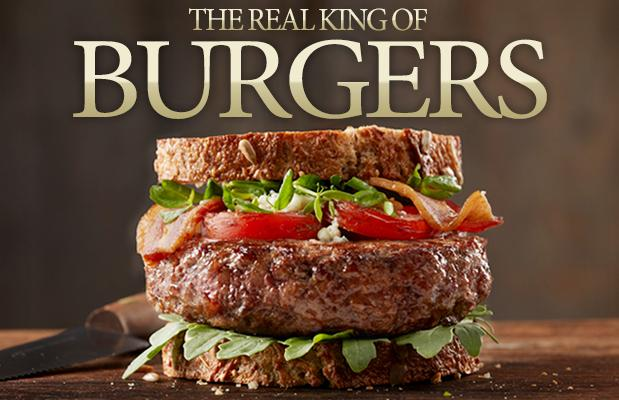 The Real King of Burgers - USDA Prime Steak Burgers
