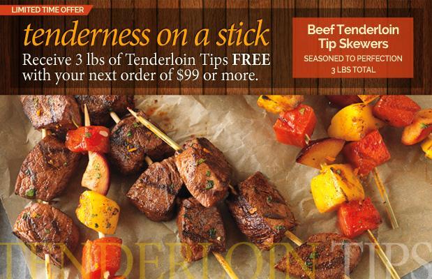 Free Filet Mignon Steak Tip