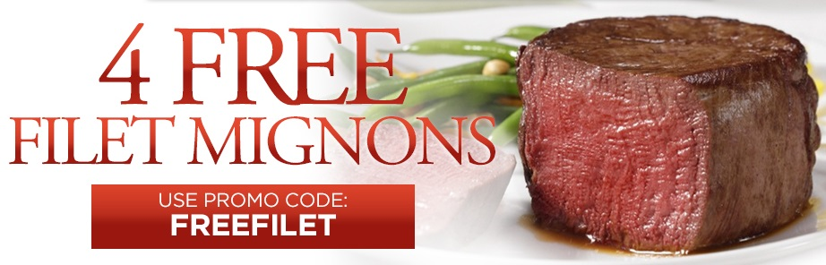 Free Filet Mignons with your next order
