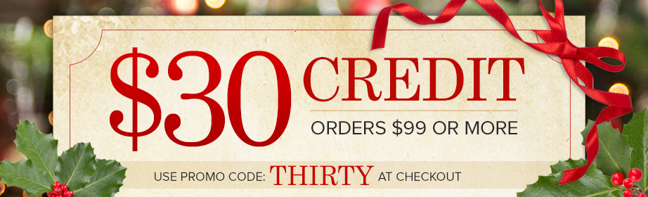 $30 Credit