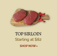 Top Sirloins - Only $82
