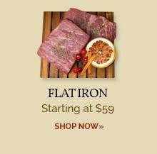 Flat Iron - Starting at $69