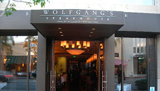Wolfgang's Steakhouse in Honolulu