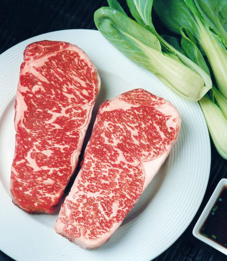 American Wagyu Strip Steaks