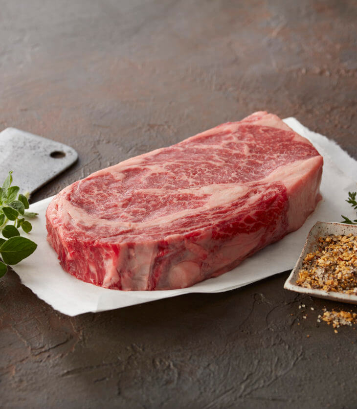 USDA graded steak
