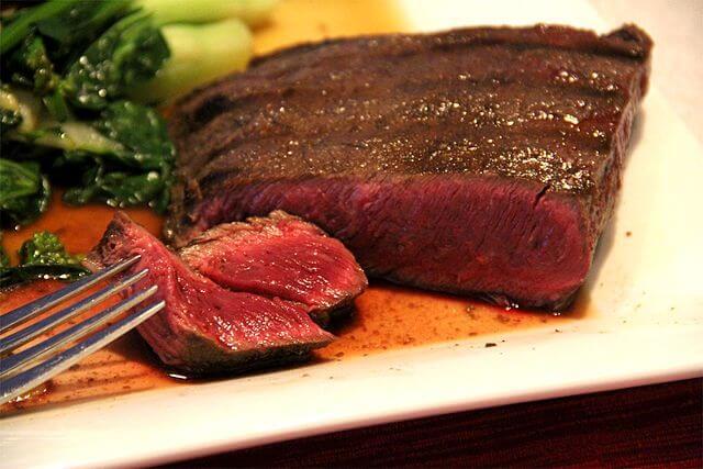 Medium rare steak tempurature
