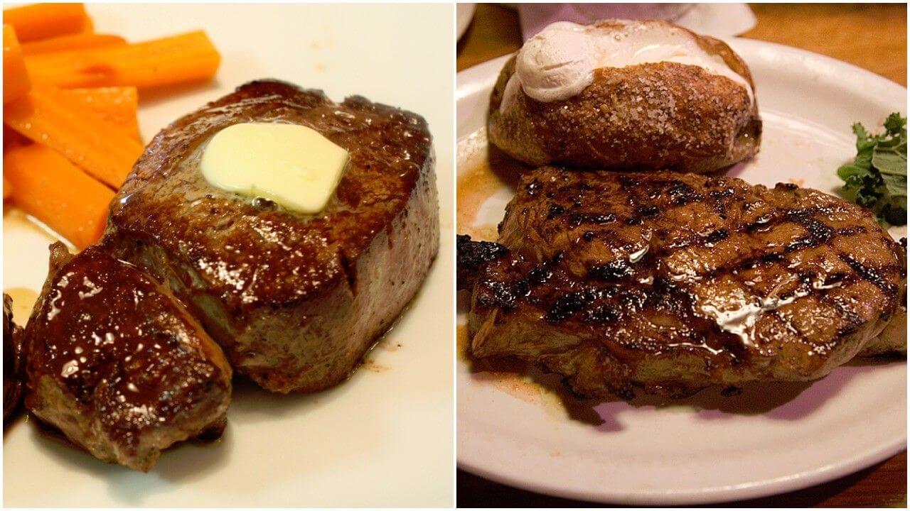 Ribeye Vs Filet Mignon Cuts Cooking Comparison Steak U