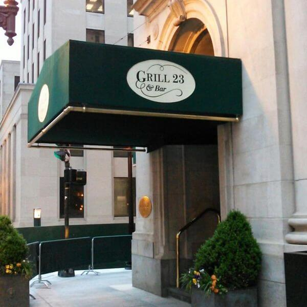 Grill 23 steakhouse