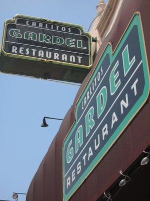 Carlitos Gardel steakhouse
