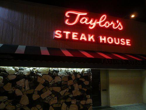 Taylors steakhouse in LA