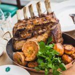cooked rib roast