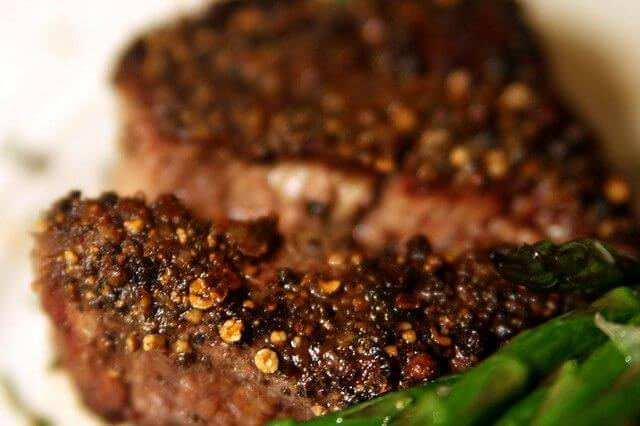 oven cooked filet mignon