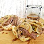 rib roast sandwich