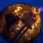 porterhouse steak on the grill